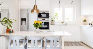 Front,View,Banner,Of,A,Kitchen,Table,In,A,Fancy